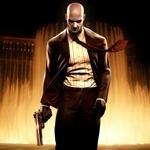 Игровой аватар с Хитмэном, скачать картинку с мужчиной из игры с пистолетом