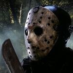Картинка с Джейсоном с мачете, герой фильма ужаса на аватаре
