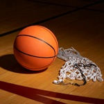 Аватар с баскетбольным мячом и корзиной, спорт баскетбол картинки на avatarko