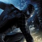 Человек-паук в чёрном костюме