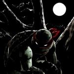 Ночная черепашка-ниндзя Рафаэль в свете Луны