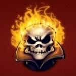 Череп | Огонь | аватар