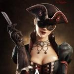 Девушка | Игры | Пираты | аватар