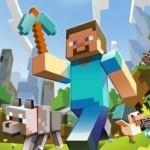 Вся Minecraft тусовка во главе с человеком с алмазной киркой
