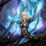 Галадриэль с поднятыми руками из игры Guardians of Middle-earth
