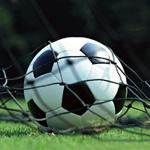 Картинка с футбольным мячом в воротах на аву