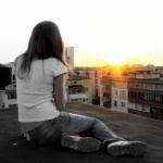 Фото девушек вечером на крыше без лица на аву » Портал современных ... | 150x150