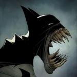 Бэтмен с множеством огромных клыков