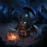 Игры, Dota 2, Phantom Assassin, Костер, аватар