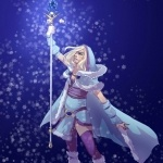 Игры, Dota 2, Crystal Maiden, аватар