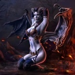 Игры, Dota 2, Queen of Pain, аватар