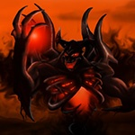 Исчадие тьмы Shadow Fiend в Доте 2