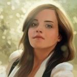 Рисунок актрисы Эммы Уотсон