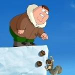Питер Гриффин и белка из Ледникового периода