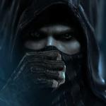 Герой игры Theif поправляет маску на лице
