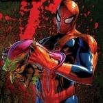 Человек-паук с оторванной головой Зелёного гоблина