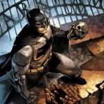 Бэтмен с черепом в руке