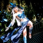 Косплей Tempest Janna из игры League of Legends