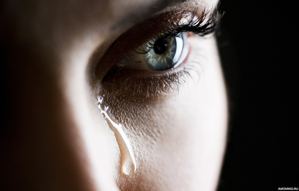 Картинки со слезами на глазах девушек с надписями, любимой жене