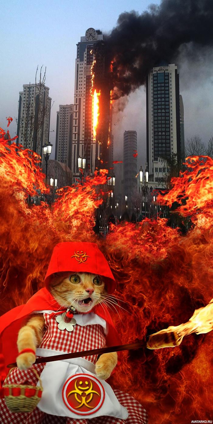 Смешная картинка, картинки огонь смешные