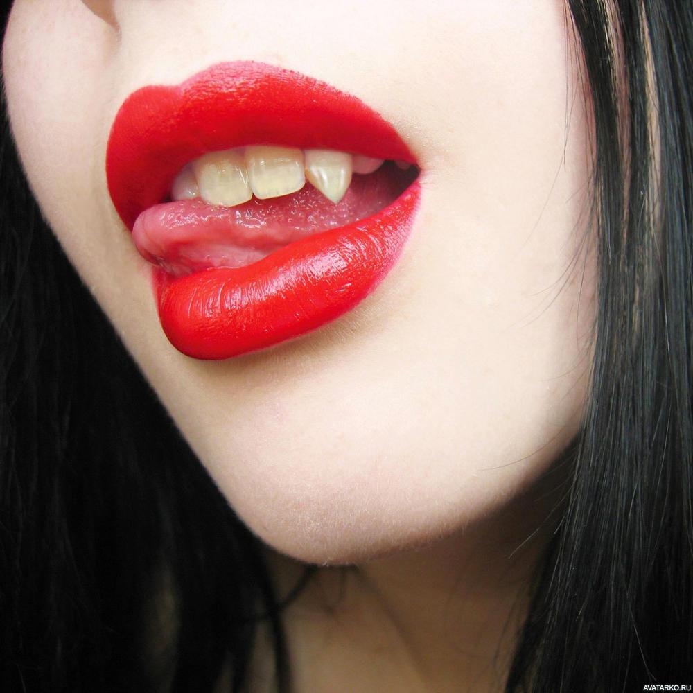 картинка с губами и высунутым свести отдачу