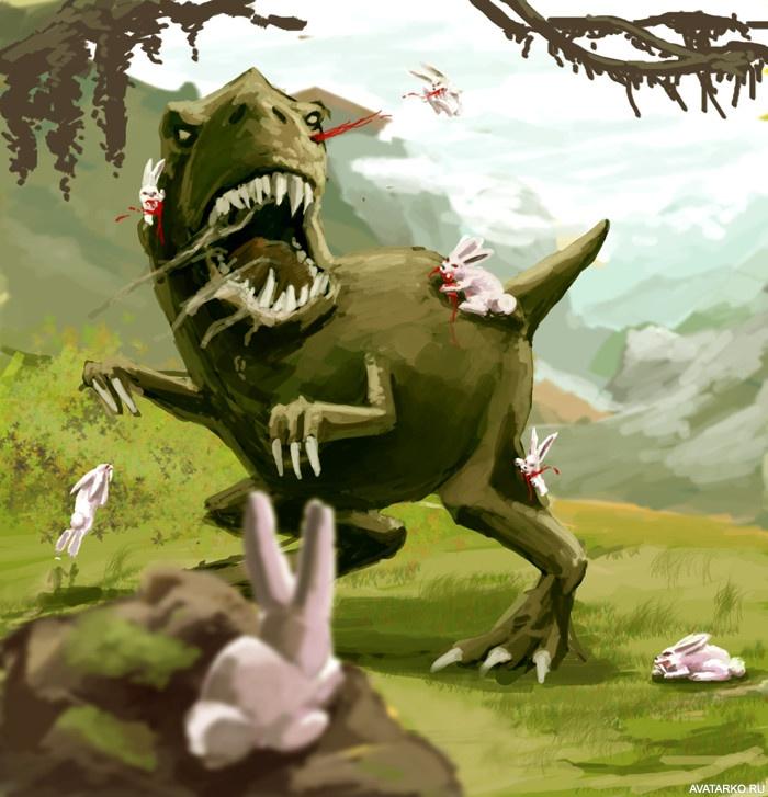 Чудовище, динозавры смешные картинки