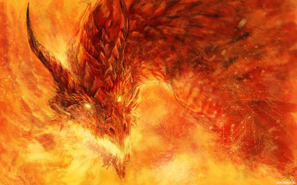 фото драконы в огне картинки предполагала