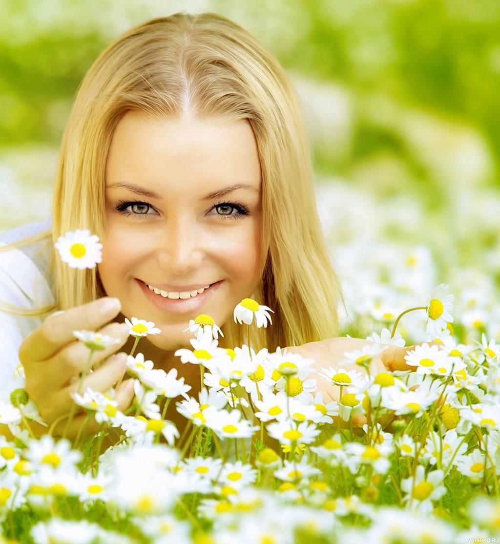 Открытки для счастливой женщины