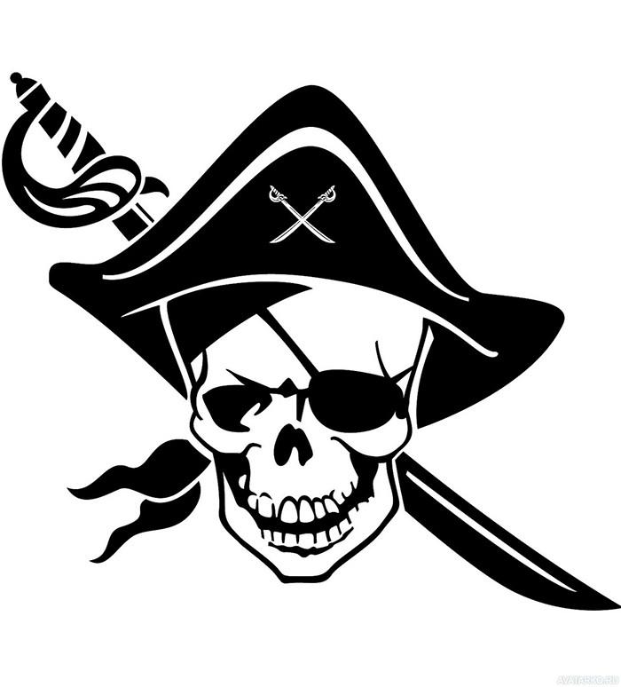 картинки флажки пираты череп интереснее