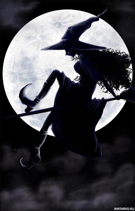 Картинка 462x720 | Силуэт летящей на фоне луны ведьмы в сапогах с острыми носами | Силуэты, Луна, Ведьмы,   Картинки ведьмы на метле, фото