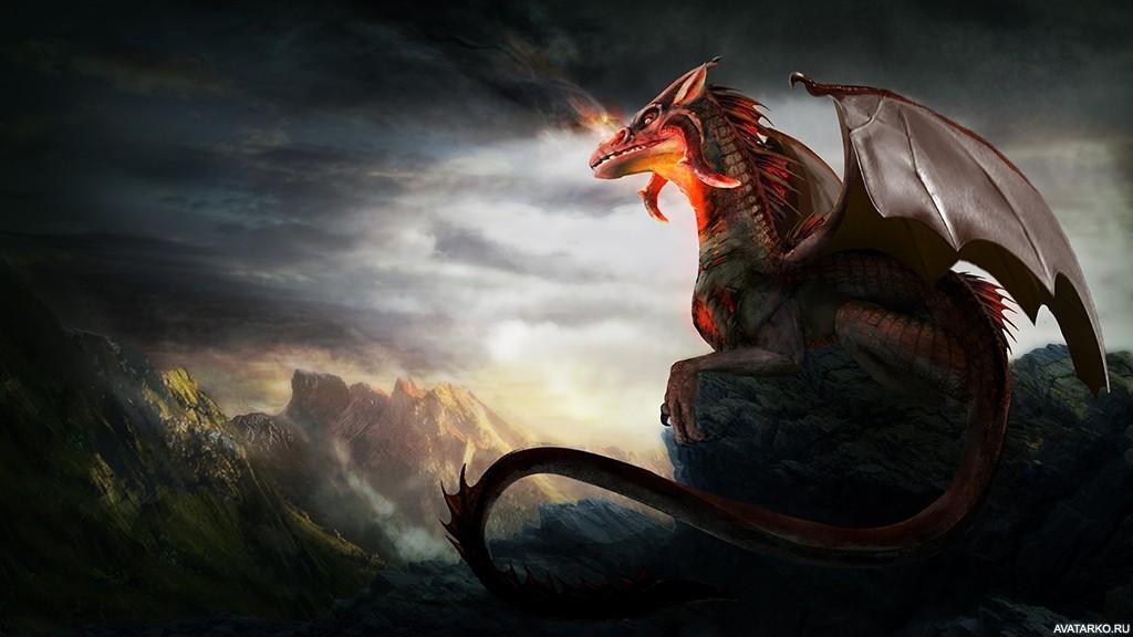 Дракон классные картинки