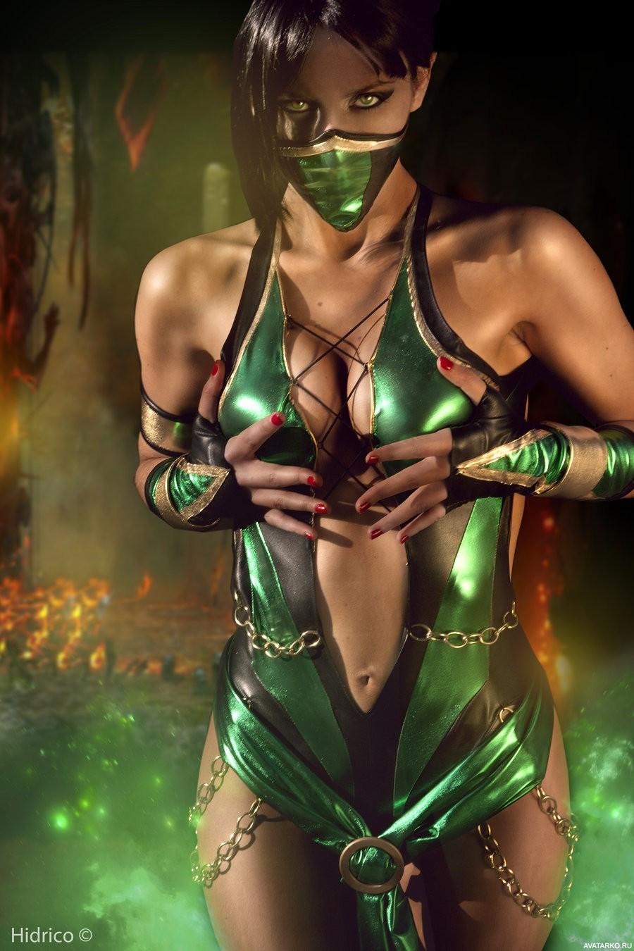 Pics of jade in mortal kombat 9  erotic images