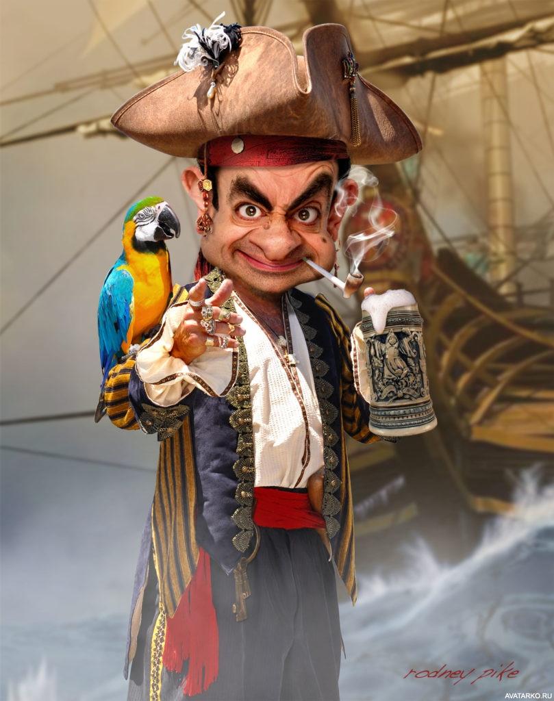 Картинка прикольные пиратов, картинки про