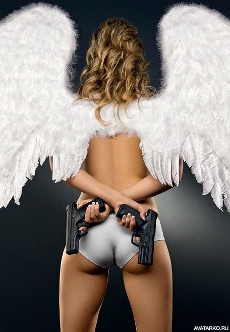 Прикол картинки с ангелами