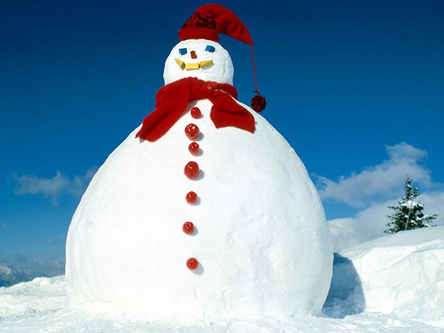 будут этот жирный снеговик картинки было