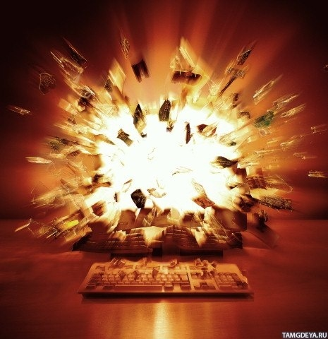 the explosion of the internet