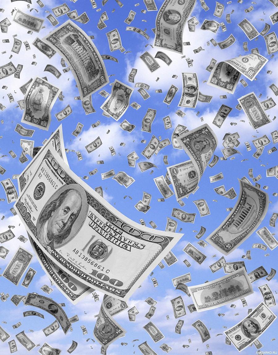 Деньги сыплются с неба фото 344-359