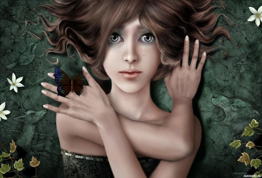 Картинка 1024x695   Красивая картинка с девушкой с серыми глазами и слезой на щеке   Девушка, Слезы, фото