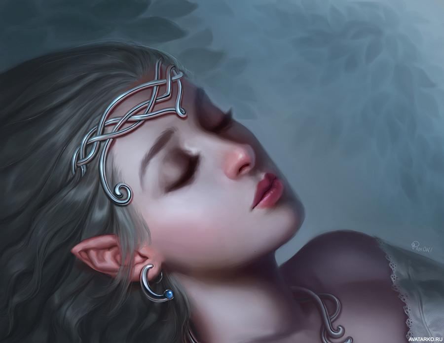 Картинки плачущих эльфов
