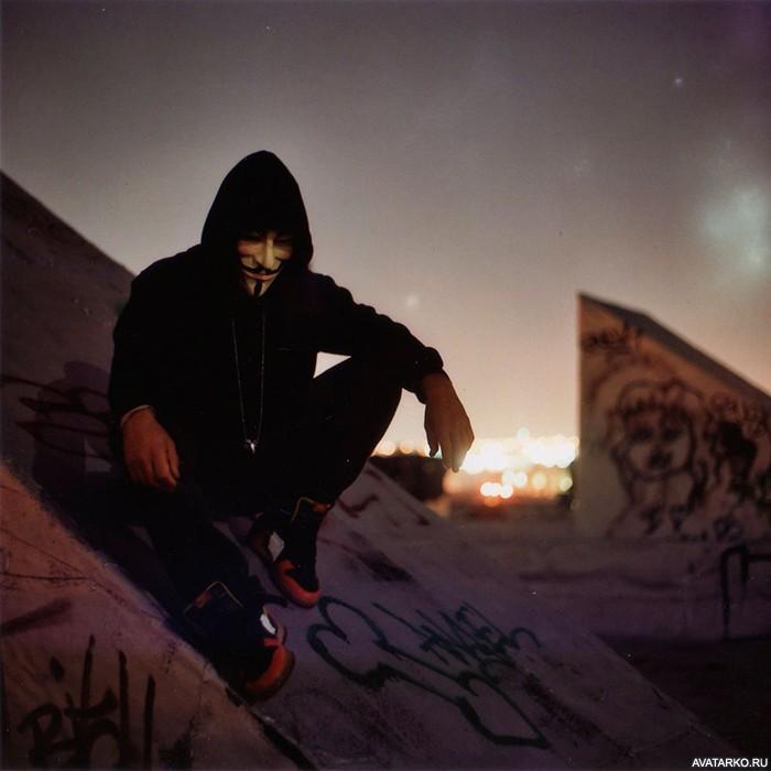 Фото на аву для пацанов с маской