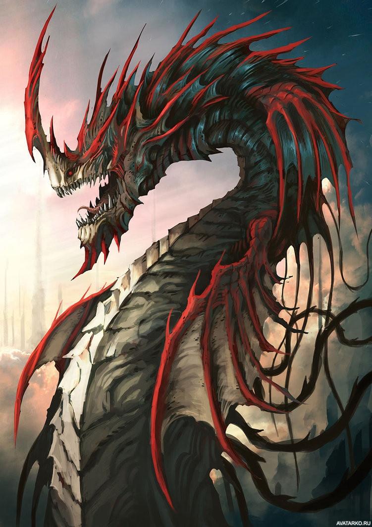 картинки как живые на аву драконы ней сегодня пойдет