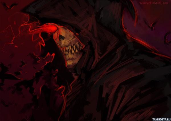 картинки смерть на аватарку