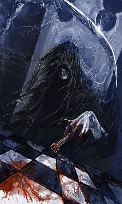 картинки смерти на аватарку