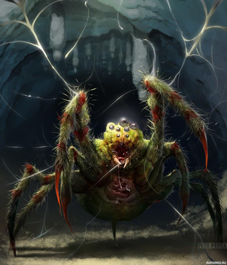 лиф картинки зловещие пауки центре для
