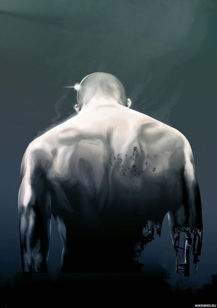 фото со спины на аву мужчины