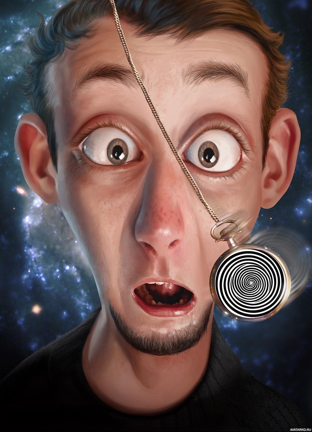Гипноз смешные картинки