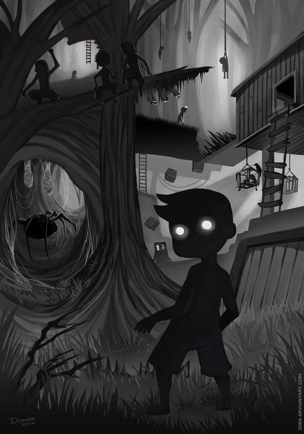 мрачные картинки на аву