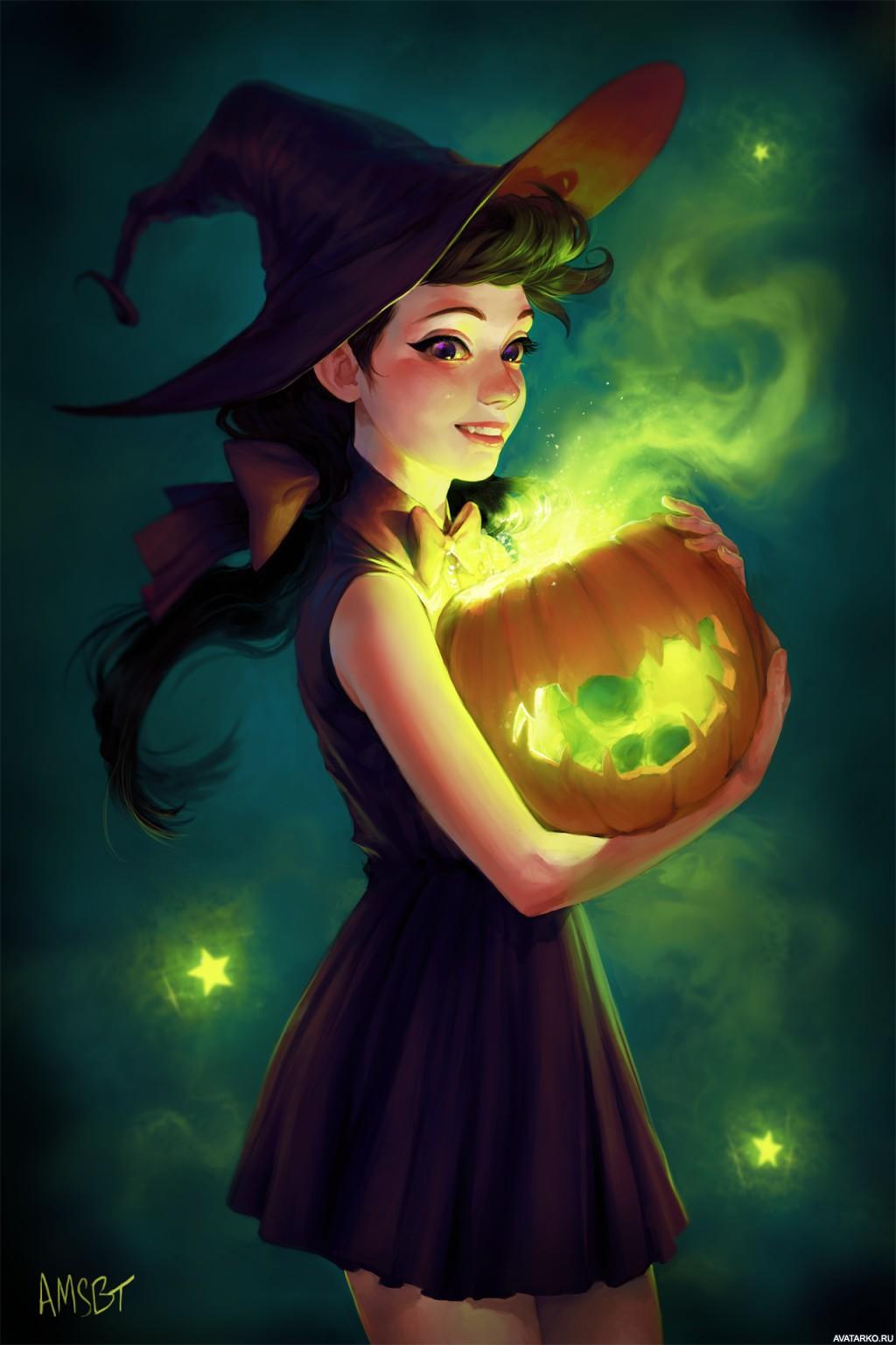 картинки ведьм красивых на аву могут зайти дом