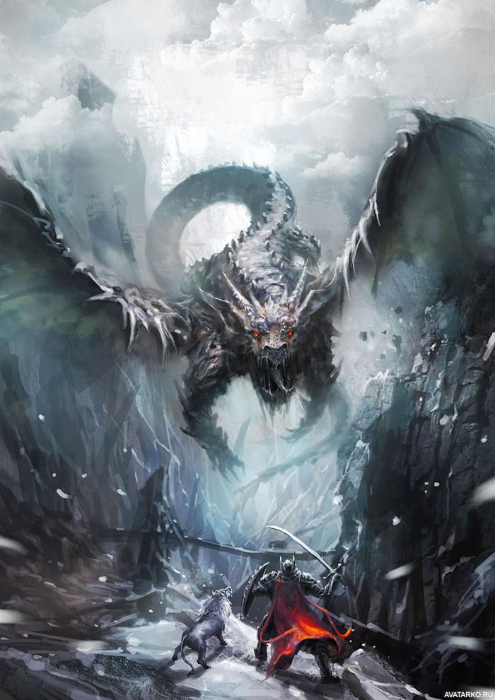 атакующий дракон картинки брать