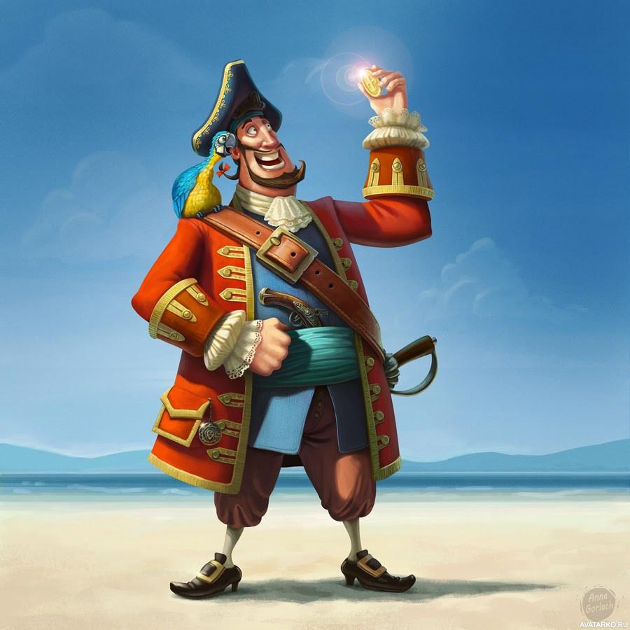 Картинки пиратов приколы, днем рождения